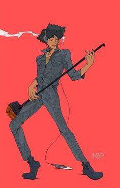 Manga Anime, Old Anime, Manga Art, Anime Art, Geek Culture, Girls Anime, Anime Guys, Cowboy Bebop Wallpapers, Cowboy Bepop