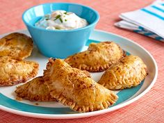 Cheesy Chicken Empanadas Recipe : Patrick and Gina Neely : Food Network - FoodNetwork.com