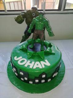 Fiesta humbre increible hulk Birthday Cake, Desserts, Food, Incredible Hulk, Party, Tailgate Desserts, Deserts, Birthday Cakes, Essen