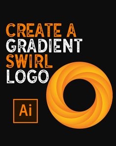 In this pin you will learn how to create a Swirl Logo in Illustrator Graphic Design Lessons, Graphic Design Layouts, Graphic Design Tutorials, Graphic Design Posters, Graphic Design Illustration, Graphic Design Inspiration, Logo Design Tips, Photoshop Design, Photoshop Logo Tutorial