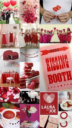 Paper Doll Romance: Color Day: Be My Valentine (Red & Pink)