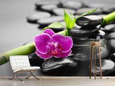 Foto #Tapete Feng-Shui-Orchidee