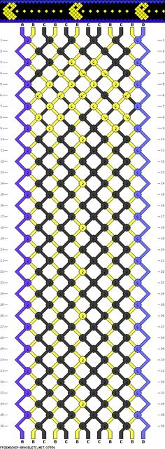 Bracelet pattern.