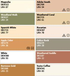 spanish colonial color palette | color palette spanish style homes....