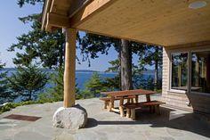 Blakeley Island patio