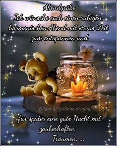 I wish you a quiet, harmonious evening with some time to relax and for a good night& sleep with magical dreams. - Bea, s picture paradise - Sprüche - Charlie Brown And Snoopy, Tatty Teddy, Messages, S Pic, Happy Weekend, Good Night Sleep, Good Morning, Wish, Funny Pictures
