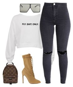 Boujee Outfits, Dope Outfits, Cute Casual Outfits, Jean Outfits, Polyvore Outfits, Stylish Outfits, Fashion Outfits, Urban Fashion, Fashion Looks