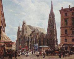 Rudolf Ritter von Alt - Vienna, St. Stephens Church
