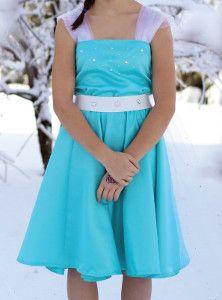 Everyday where translation of Elsa's dress