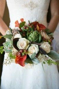 Свадебный букет в осеннем стиле