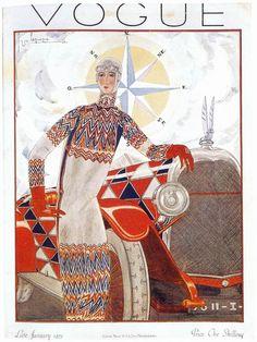 Sonia Delaunay, Vogue Cover 1925