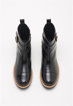 Biker Boot - Kate Sylvester … These also come in a brown called 'cigar' which I LOVE !