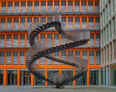 Double-Spiral Stair Case That Leads Nowhere