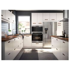 IKEA - NUTID Self-cleaning convection oven Stainless steel