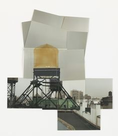 Rachel Whiteread. Drawing for Water Tower, V. (1997)