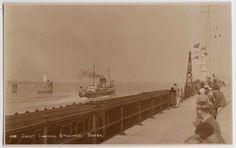 POSTCARD - Cross Channel Steamer, Dover, ships/boats, Kent RP | eBay