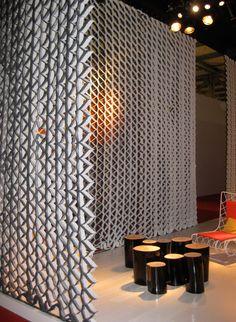 Honeycomb Raumteiler von PROCÉDÉS CHÉNEL | Raumteilsysteme
