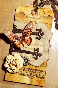 A Time To Remember tag by Lara. site has lots of pretties with directions.,