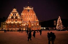First Ever Public Christmas Tree Marker – Riga, Latvia | Atlas Obscura