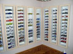 model car collection display - Google Search
