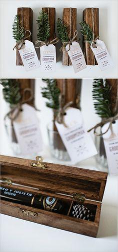 Cigar box DIY for your guys. Captured and Created By: Corinne Alexandra #weddingchicks http://www.weddingchicks.com/2014/06/27/diy-gift-for-the-fellas/