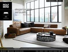 rolf-benz - CoolHomepages Web Design Gallery