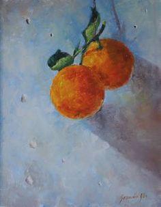 A Pair of Oranges German, Painting, Art, Deutsch, Art Background, German Language, Painting Art, Paintings, Kunst