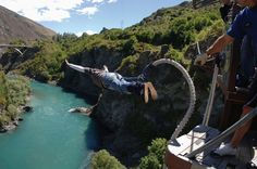 New Zealander AJ Hackett invented the Bungy Jump