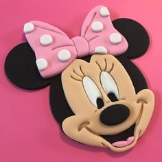 Minnie Mouse Cake Topper-Fondant