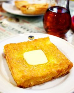 When talking about having a tea break, HK-styled french toast is no doubt a top ranked choice. Agree? The one in Tsui Wah (翠華餐廳) is not bad though~ http://www.allabouthongkong.com/?p=936