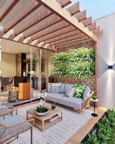 Decor, Living Room Design Small Spaces, Pergola Designs, Outdoor Living Design, Backyard Inspiration, Outdoor Metal Wall Decor, Outdoor Decor, Outdoor Patio Decor, House Exterior