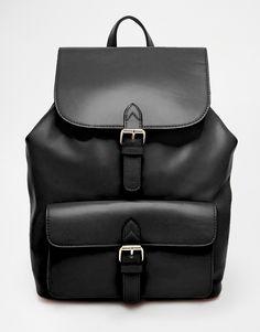 ASOS Structured Pocket Backpack