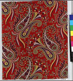 Piece | Russian | The Met Paisley Fabric, Paisley Pattern, Paisley Print, Graffiti Wall, Tile Art, Surface Pattern, Metropolitan Museum, Pattern Paper, Textile Design