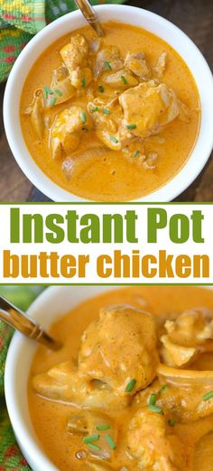 This easy Instant Pot butter chicken recipe is moist and full of flavor. Only ta… This easy Instant Pot butter chicken recipe is moist and full of flavor. Only taking 5 minutes to cook it's quick and a perfect dinner with a side of naan. Instant Pot Butter Chicken Recipe, Butter Chicken Rezept, Best Instant Pot Recipe, Instantpot Chicken Recipes, Indian Butter Chicken, Instant Pot Pressure Cooker, Pressure Cooker Recipes, Pressure Cooking, Crockpot