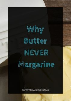 Why you should throw out your margarine and embrace the goodness of grass-fed butter! Click through to check out the whole article...