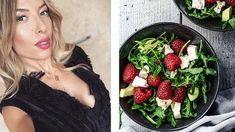 Przepisy na kolację od Ewy Chodakowskiej Diets For Women, Breakfast Recipes, Lunch Box, Healthy Recipes, Healthy Meals, Strawberry, Food And Drink, Dinner, Fruit