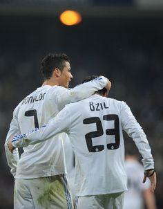 Cristiano Ronaldo and Mesut Ozil Photo - Real Madrid v Atletico Madrid - Copa del Rey