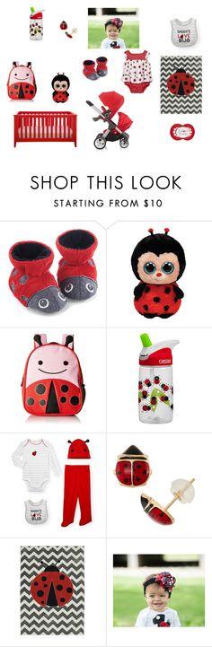 Baby Ladybug, Girl. Red