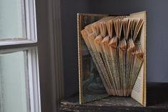 Flock - Readers Digest Condensed Books - Folded Book Art - Recycled, Repurposed, Reclaimed