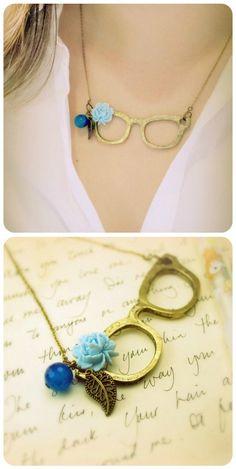 Eye Glasses Necklace