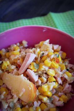 Das perfekte Fruchtiger Wurst-Käse-Salat; für den Thermomix-Rezept mit einfacher Schritt-für-Schritt-Anleitung: Die Zutaten für das Dressing in den…