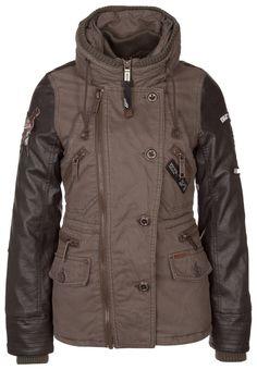 khujo INDIA Winter jacket oliv