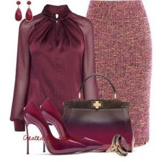"""The Biggest And Greatest Guide To Jewelry Clothing, Shoes & Jewelry : Women : """"womens fashion"""" - My Accessories World Classy Outfits, Chic Outfits, Vintage Outfits, Jw Mode, Work Fashion, Fashion Looks, Classy Fashion, Mode Ootd, Modelos Fashion"""