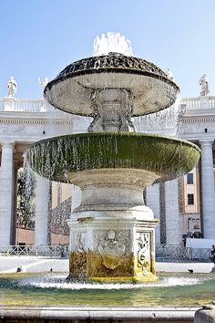 Fountain erected by Gian Lorenzo Bernini