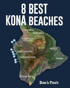 Kona's best beaches - Big Island