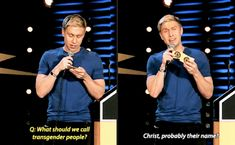 Russell Howard, Transgender People, Tumblr Stuff, Haha, Pride, Funny Memes, Women's Rights, Humor, Adulting