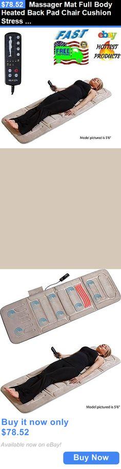 1000 images about massage chair pad on pinterest for Full body shiatsu massage mat