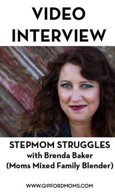 Video Interview with Stepmom, Brenda Baker - Moms Mixed Family Blender - Gipford Moms Step Parenting, Parenting Books, Parenting Advice, Parallel Parenting, Mixed Families, Divorce And Kids, Step Kids, 24 Years, Mom Advice