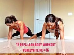 12 Rep Fulll  Body Workout #purelyfitlife 16