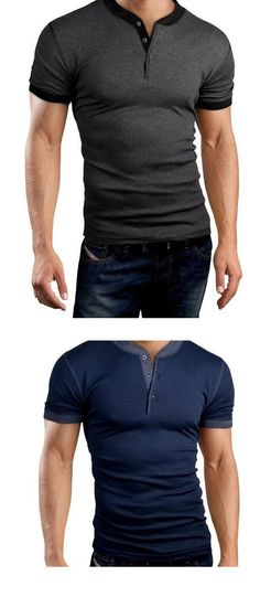 Men's Sports Casual/Daily Simple T-shirt